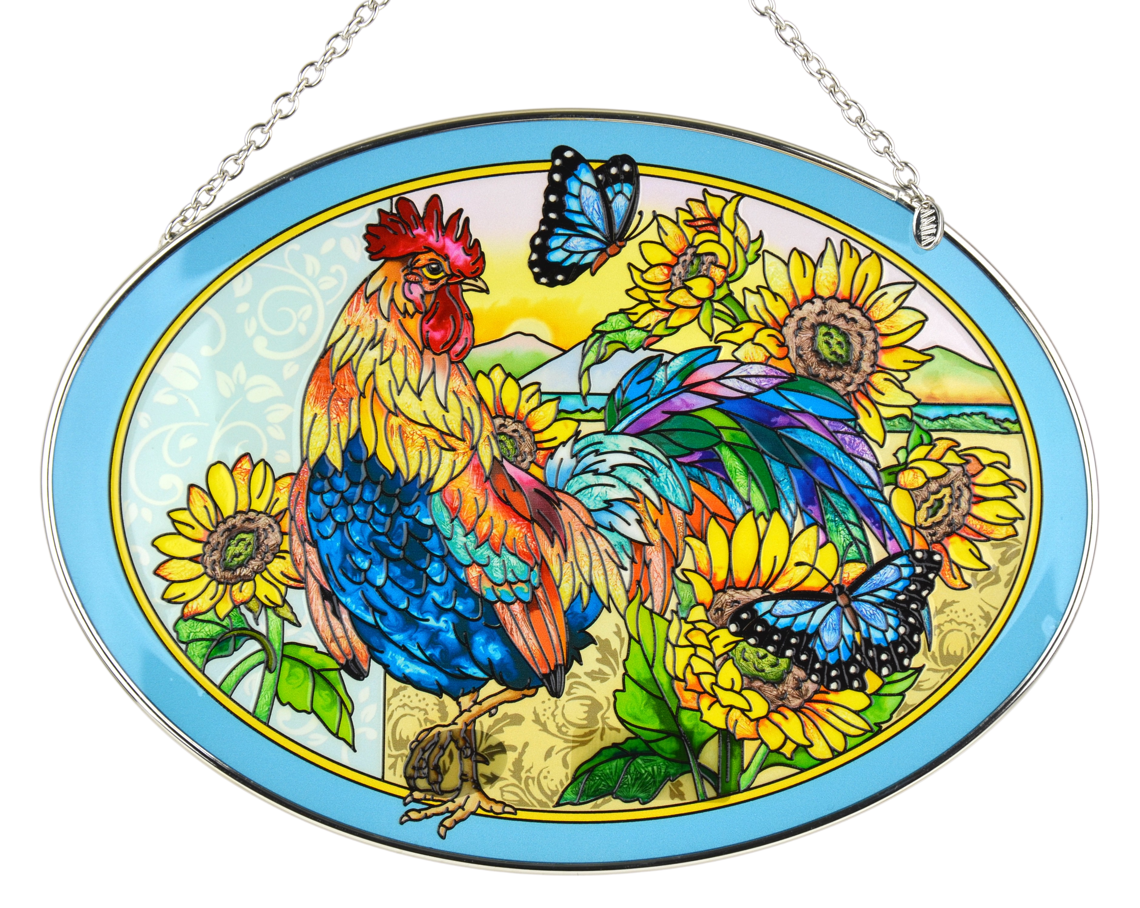Chicken and Rooster Suncatchers
