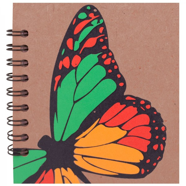 Colorful Butterfly Notebook