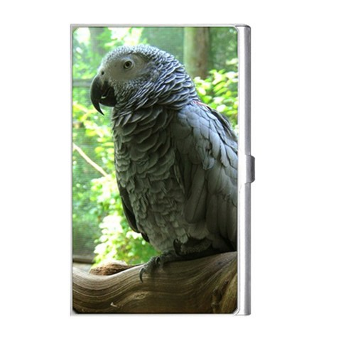 Congo African Grey Business Card Holder