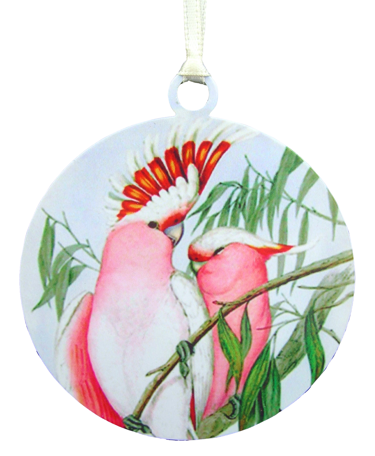 Leadbeaters Cockatoo Ornament