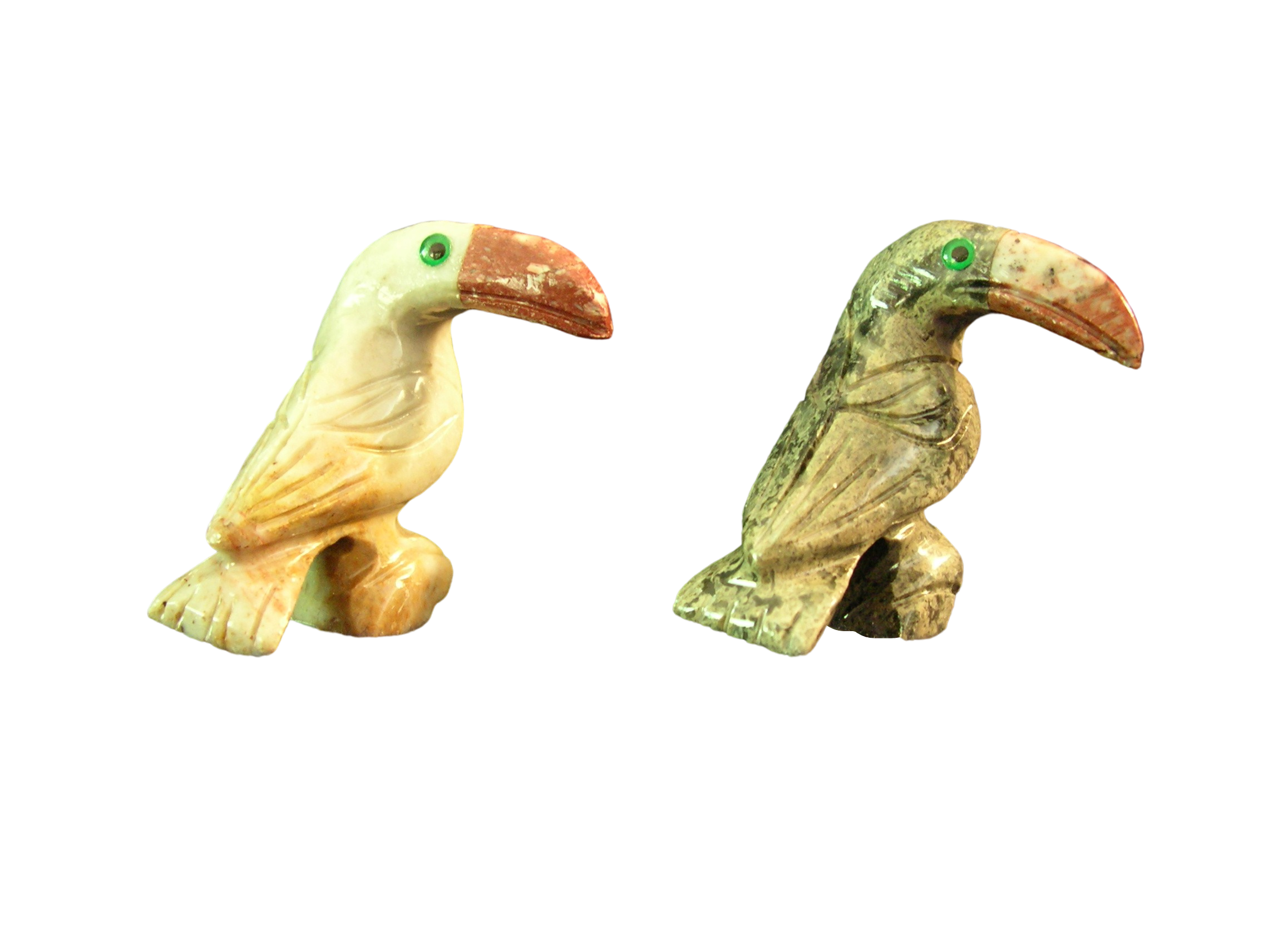 Soapstone Toucan Figurine - Facing Right