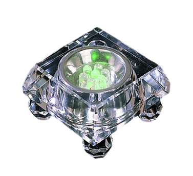 Square Crystal Lighting Base