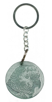 Amazon Parrot Key Ring
