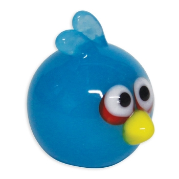 Angry Birds Blue Bird Tiny Glass Figurine