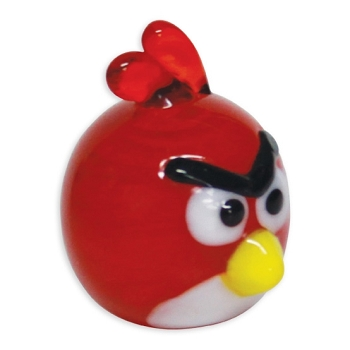 Angry Birds Red Bird Tiny Glass Figurine