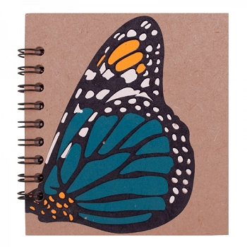 Blue Butterfly Notebook