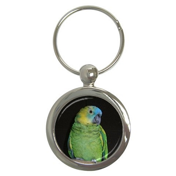 Blue-Fronted Amazon Key Chain