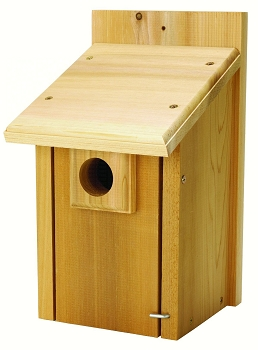 Bluebird House with Predator Guard