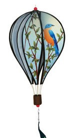Bluebirds Hot Air Balloon