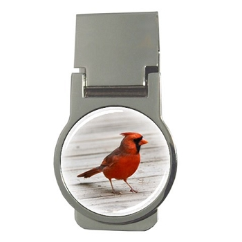 Cardinal Money Clip