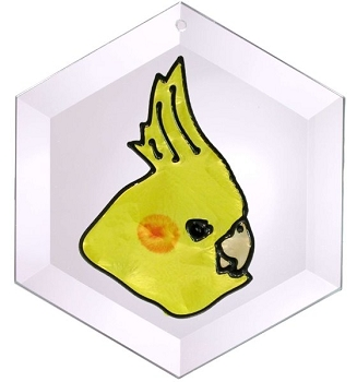 Cockatiel Suncatcher