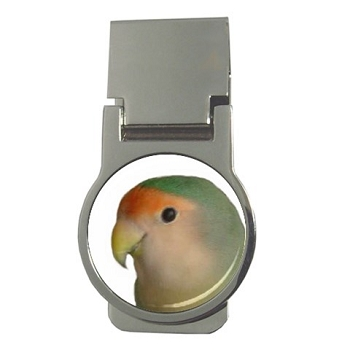 Dutch Blue Lovebird Money Clip
