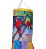 Every Hour Is Happy Hour Macaw Windsock