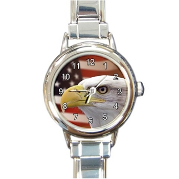 Patriotic Eagle Ladies Watch