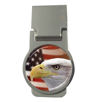 Patriotic Eagle Money Clip