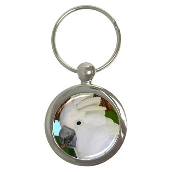 Umbrella Cockatoo Key Chain