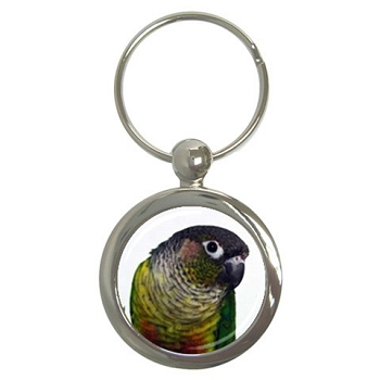 Yellow-Sided Conure Key Chain