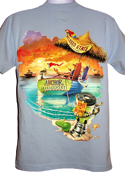 Anchor Management Parrot T-Shirt (Back of Shirt)
