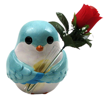 Bird Bud Vase Buddy
