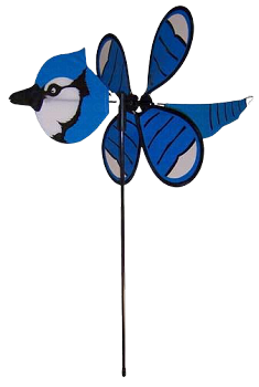 Blue Jay Baby Bird Spinner