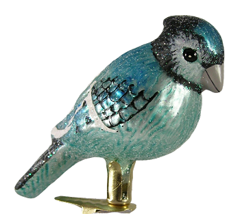 Blue Jay Clip Ornament