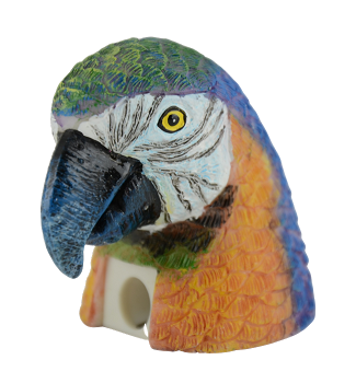 Blue and Gold Macaw Pencil Sharpener