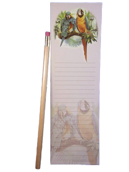 Blue and Gold Macaws Note Pad