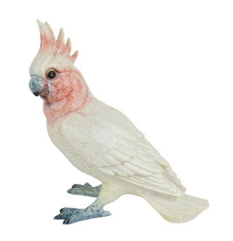 Major Mitchell's Cockatoo Figurine