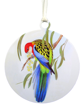 Eastern Rosella Ornament