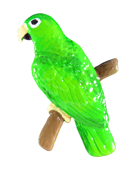 Eclectus Male Pin