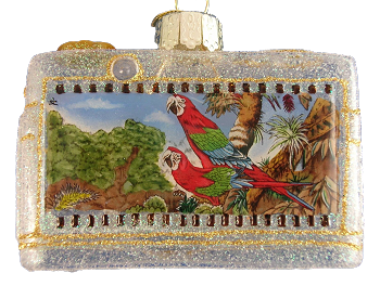 Green-Wing Macaws Camera Ornament