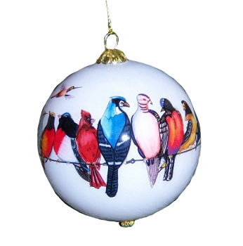 Chorus Line Songbirds Ornament
