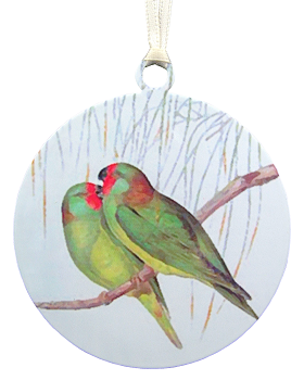 Little Lorikeets Ornament