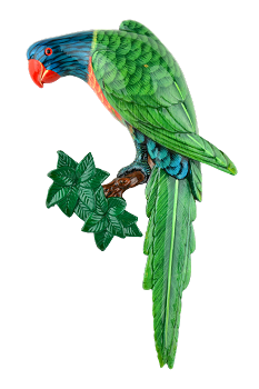 Lory Wall Plaque