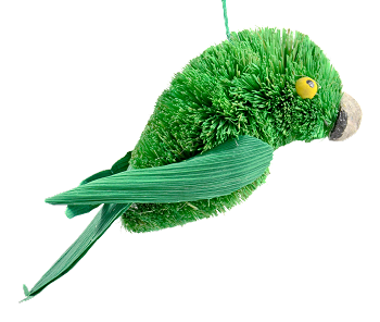 Eclectus Male Eco-Friendly Ornament