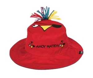 Children's Pirate Parrot Reversible Sun Hat