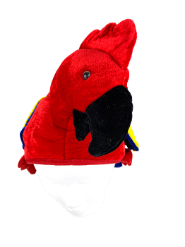 Red Parrot Hat