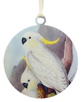 Sulphur Crested Cockatoo Ornament