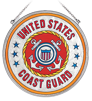United States Coast Guard Suncatcher