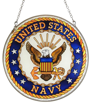 United States Navy Suncatcher