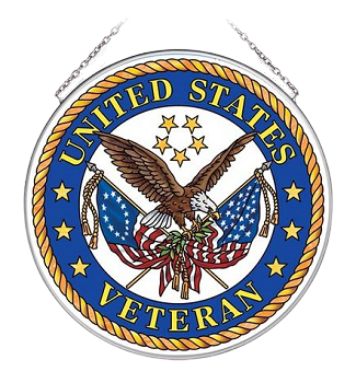 United States Veteran Suncatcher