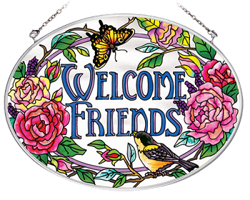 Welcome Friends Suncatcher