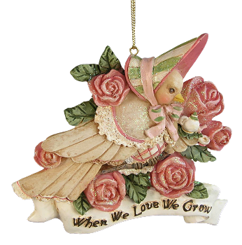 When We Love We Grow Ornament