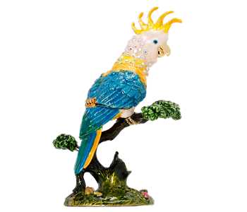 Cockatoo Trinket Box