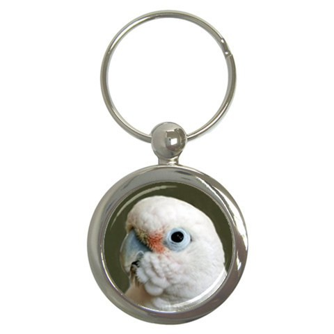 Goffin's Cockatoo Key Chain