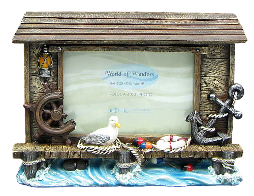 Maritime Memories Picture Frame with Seagull